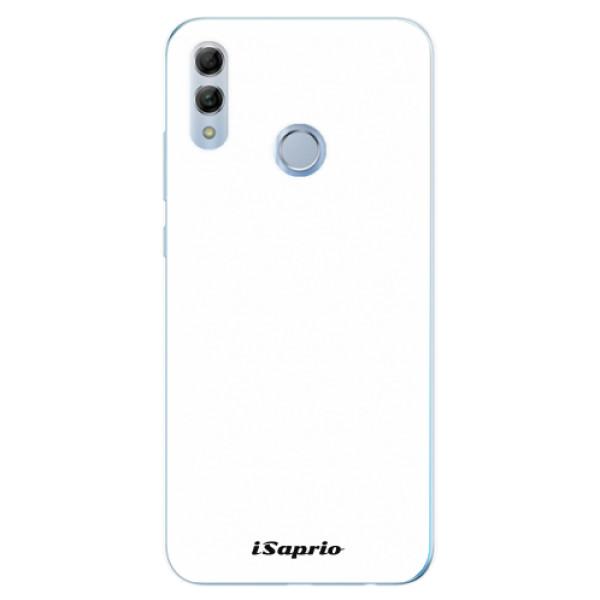 Odolné silikonové pouzdro iSaprio - 4Pure - bílý - Huawei Honor 10 Lite