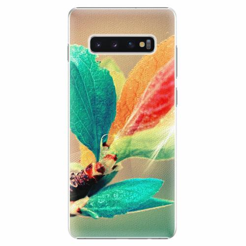 Plastový kryt iSaprio - Autumn 02 - Samsung Galaxy S10+