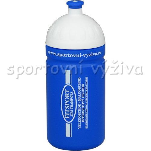 Lahev Fitsport špunt 500ml-modra