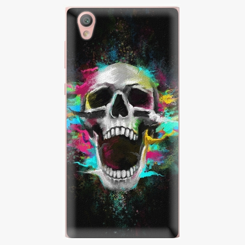 Plastový kryt iSaprio - Skull in Colors - Sony Xperia L1