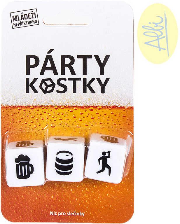 ALBI HRA Párty Kostky pivní zábavné pro dospělé *SPOLEČENSKÉ HRY*