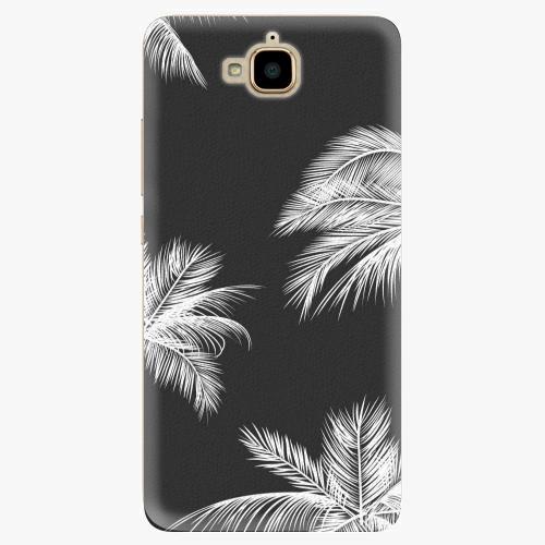 Plastový kryt iSaprio - White Palm - Huawei Y6 Pro
