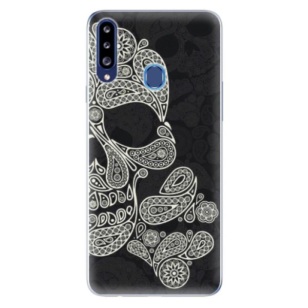 Odolné silikonové pouzdro iSaprio - Mayan Skull - Samsung Galaxy A20s