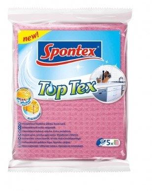Top Tex utěrka houbová, 5 ks
