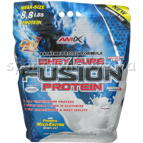 Whey Pure Fusion Protein - 4000g-moca-choco-coffee