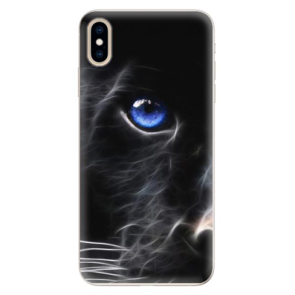 Silikonové pouzdro iSaprio - Black Puma - iPhone XS Max