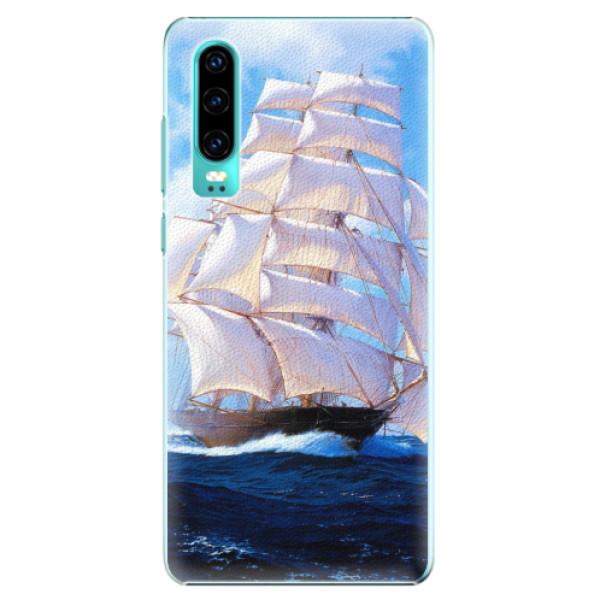 Plastové pouzdro iSaprio - Sailing Boat - Huawei P30