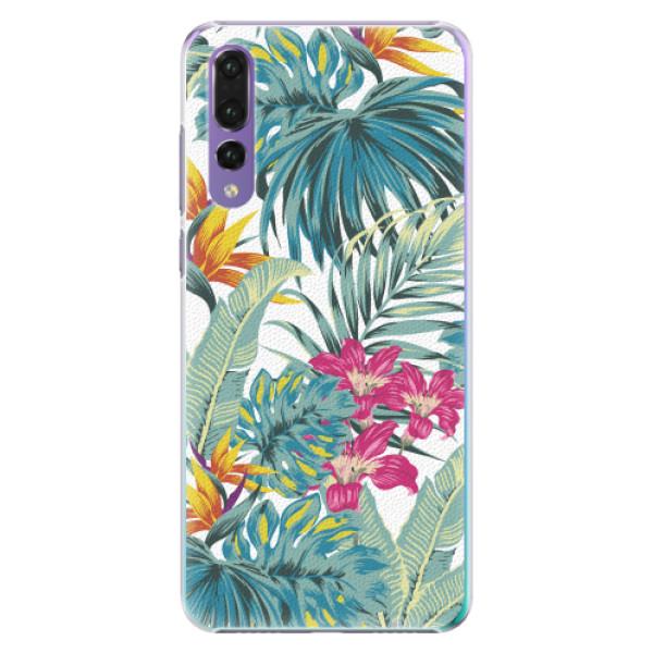 Plastové pouzdro iSaprio - Tropical White 03 - Huawei P20 Pro