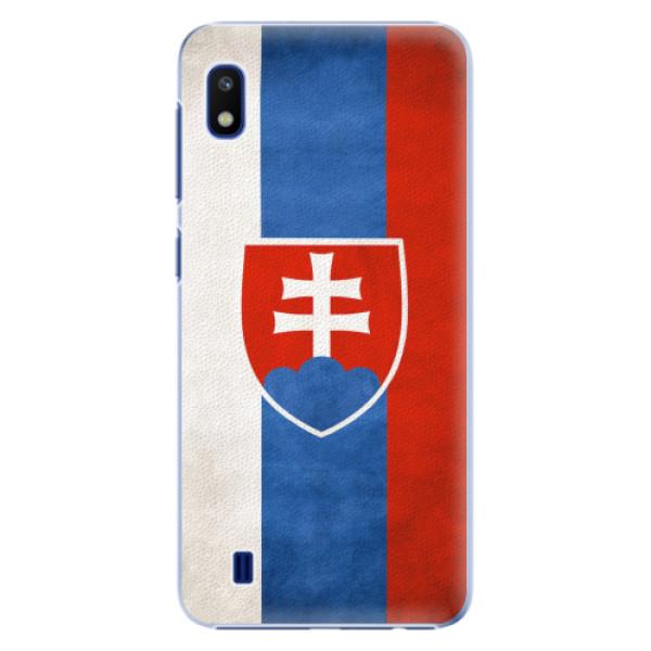 Plastové pouzdro iSaprio - Slovakia Flag - Samsung Galaxy A10