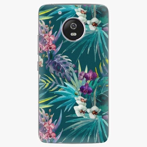 Plastový kryt iSaprio - Tropical Blue 01 - Lenovo Moto G5