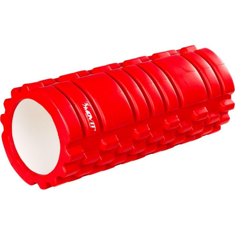 Posilovací masírovací válec - FITNESS ROLLER MOVIT červená