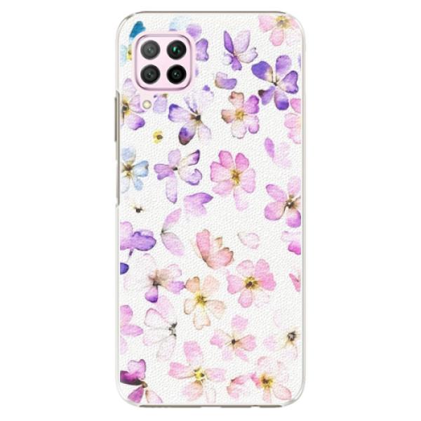 Plastové pouzdro iSaprio - Wildflowers - Huawei P40 Lite