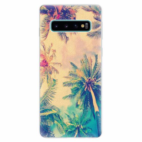 Silikonové pouzdro iSaprio - Palm Beach - Samsung Galaxy S10