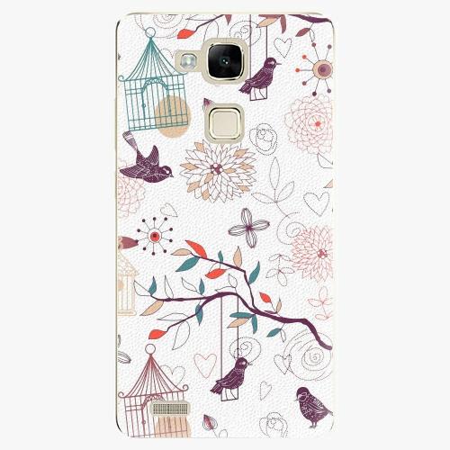 Plastový kryt iSaprio - Birds - Huawei Mate7