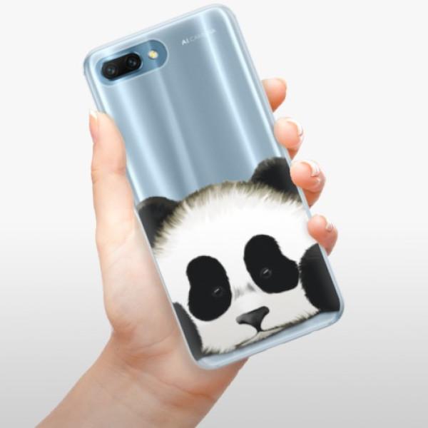 Silikonové pouzdro iSaprio - Sad Panda - Huawei Honor 10