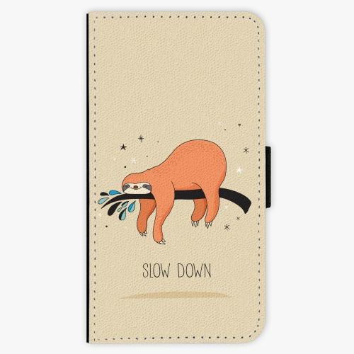Flipové pouzdro iSaprio - Slow Down - iPhone X