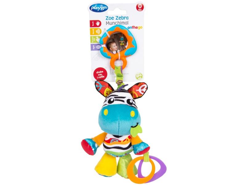 Playgro - Závěsná zebra s kousátky