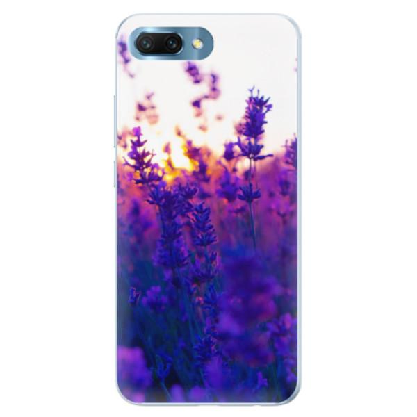 Silikonové pouzdro iSaprio - Lavender Field - Huawei Honor 10