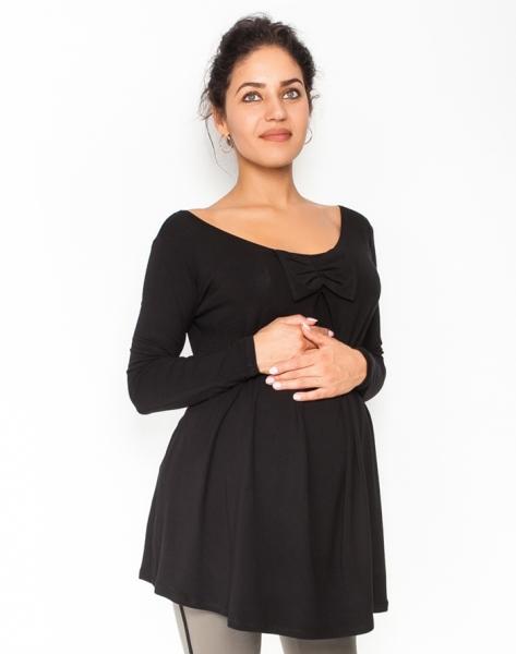 Volná těhotenská halenka/tunika dlouhý rukáv Aria