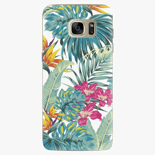 Plastový kryt iSaprio - Tropical White 03 - Samsung Galaxy S7