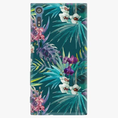 Plastový kryt iSaprio - Tropical Blue 01 - Sony Xperia XZ