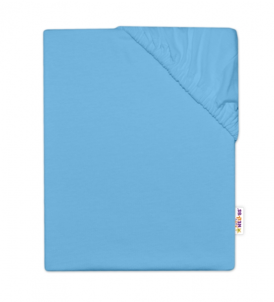 baby-nellys-detske-jersey-prosteradlo-do-postylky-modra-140-x-70-cm-140x70