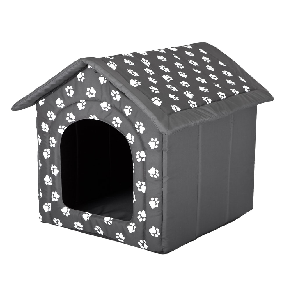 Domeček pro psa Reedog Grey Paw - L