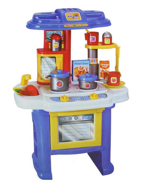 Dětská KUCHYNĚ zvuk a světlo 63 cm (kuchyňka pro děti)