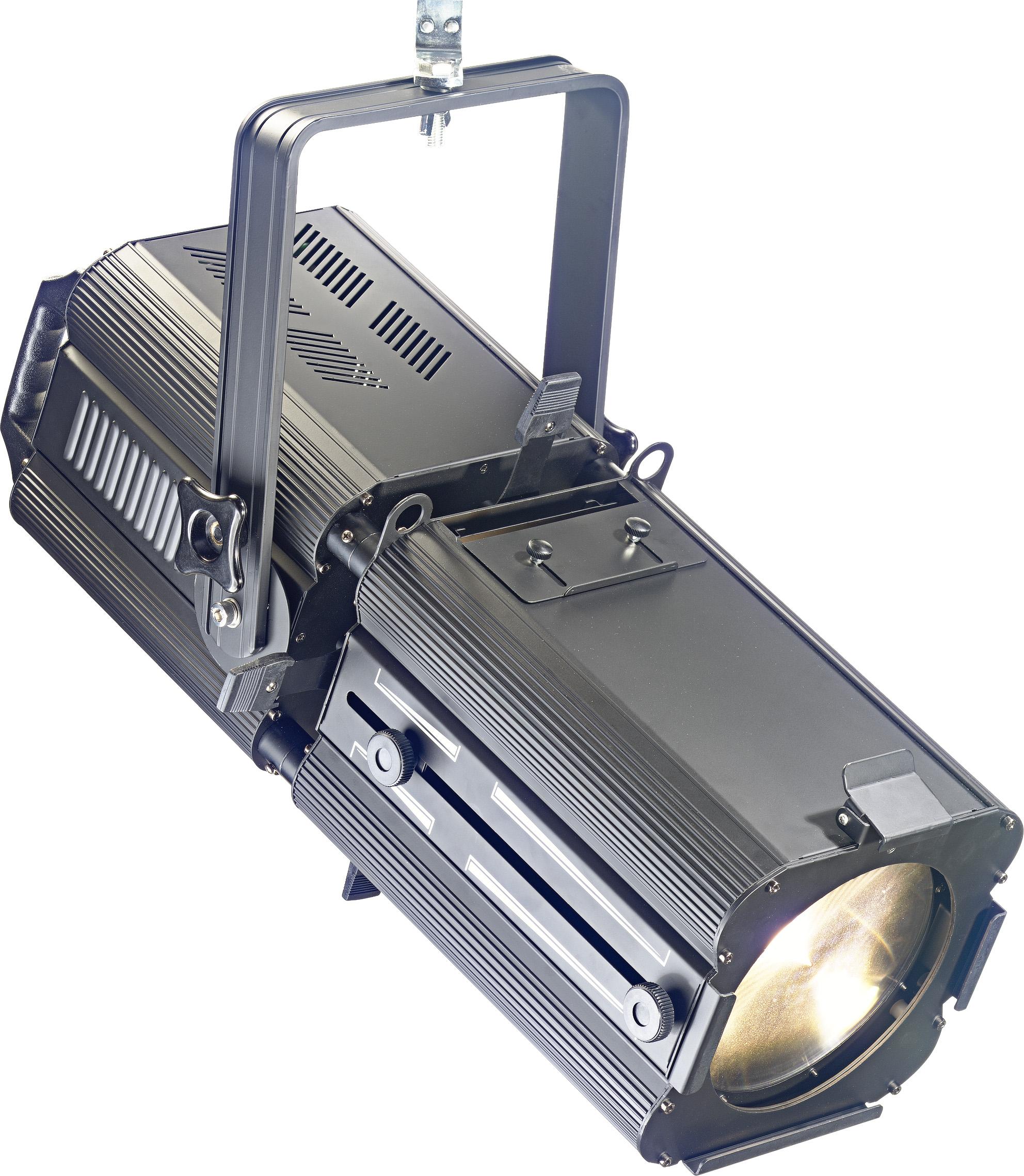 Stagg SLP200Z divadelní reflektor, 1x200W COB 6500K DMX, 17 - 50, černý