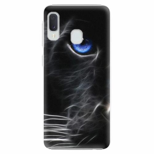 Plastový kryt iSaprio - Black Puma - Samsung Galaxy A20e