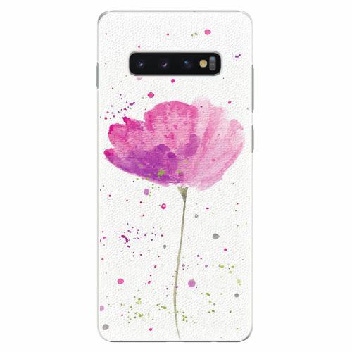 Plastový kryt iSaprio - Poppies - Samsung Galaxy S10+