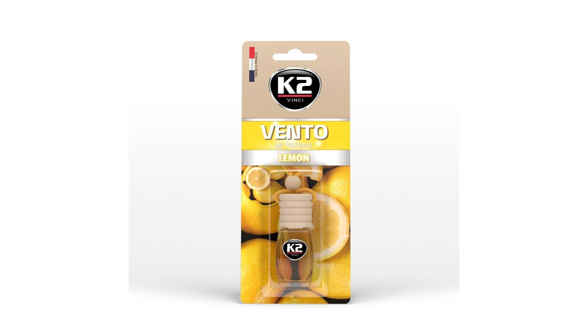 K2 VENTO osvěžovač vzduchu - Citron 8ml