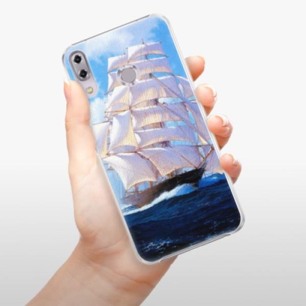 Plastové pouzdro iSaprio - Sailing Boat - Asus ZenFone 5Z ZS620KL
