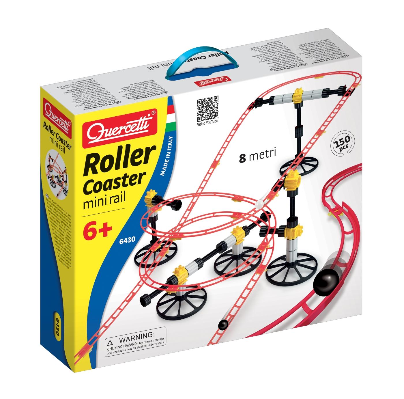 Quercetti Roller Coaster Mini 8 m