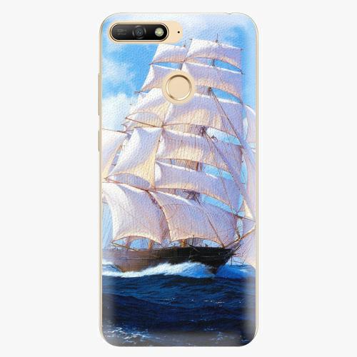 Plastový kryt iSaprio - Sailing Boat - Huawei Y6 Prime 2018