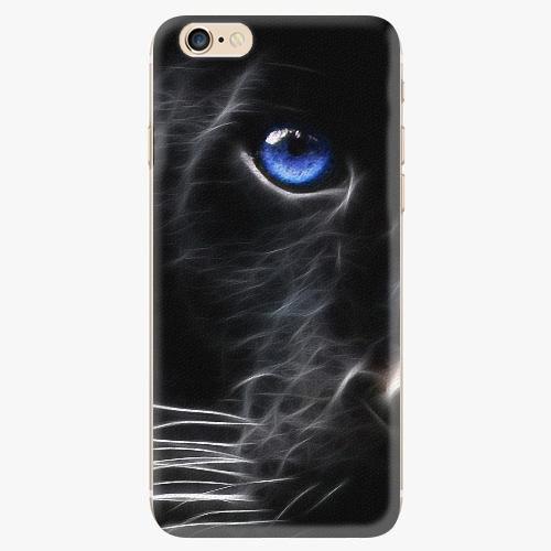 Plastový kryt iSaprio - Black Puma - iPhone 6/6S