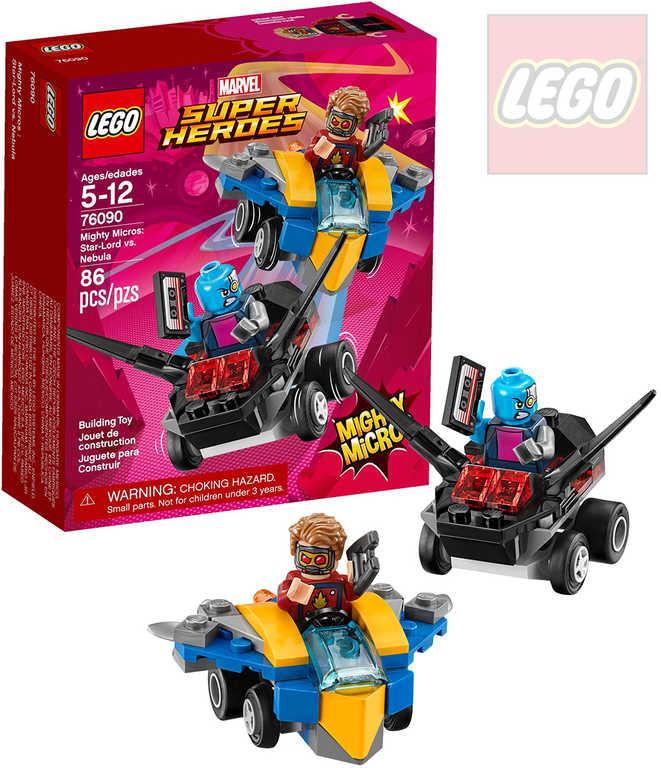 LEGO SUPER HEROES Mighty Micros: Star-Lord vs. Nebula STAVEBNICE 76090