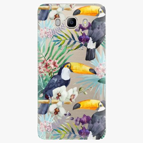 Plastový kryt iSaprio - Tucan Pattern 01 - Samsung Galaxy J7 2016