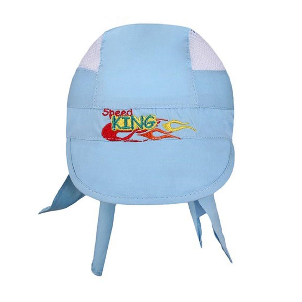 Letní dětská čepička-šátek New Baby Speed King