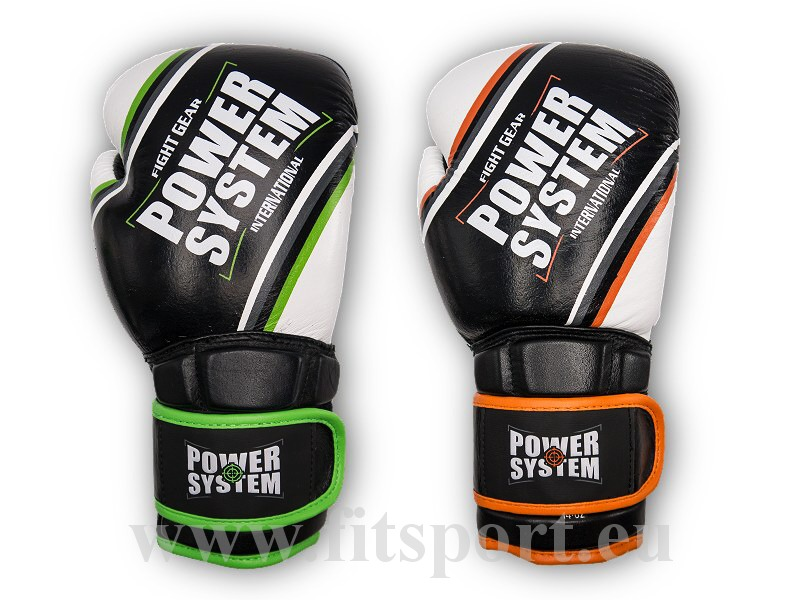 PowerSystem boxerské rukavice - CONTENDER-orange-14-oz