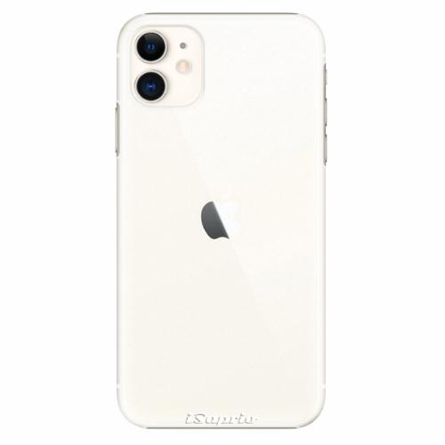 Plastový kryt iSaprio - 4Pure - průhledný matný - iPhone 11