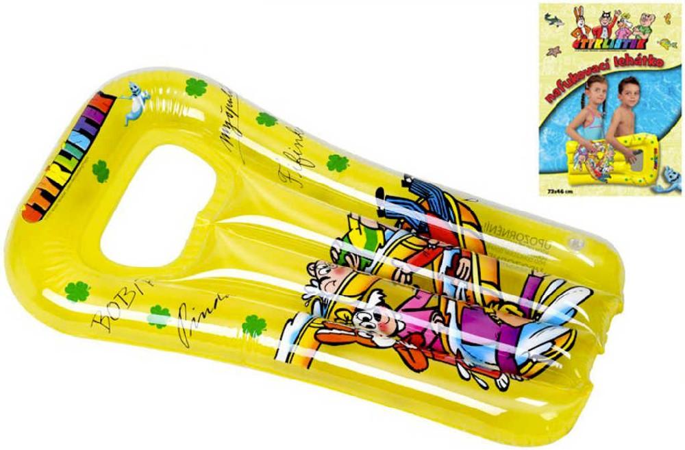 Lehátko dětské Čtyřlístek 73x46cm nafukovací matrace na vodu s průzorem