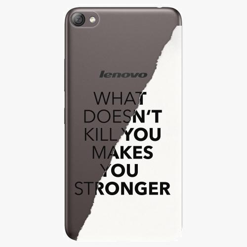 Plastový kryt iSaprio - Makes You Stronger - Lenovo S60