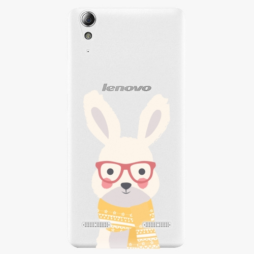 Plastový kryt iSaprio - Smart Rabbit - Lenovo A6000 / K3
