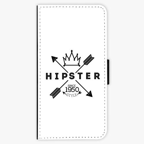 Flipové pouzdro iSaprio - Hipster Style 02 - iPhone 7 Plus