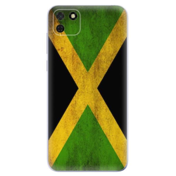 Odolné silikonové pouzdro iSaprio - Flag of Jamaica - Huawei Y5p