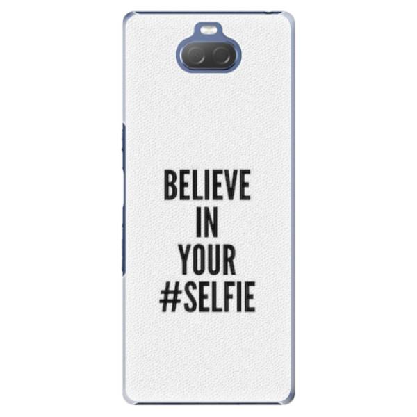Plastové pouzdro iSaprio - Selfie - Sony Xperia 10 Plus