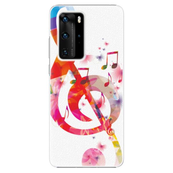 Plastové pouzdro iSaprio - Love Music - Huawei P40 Pro