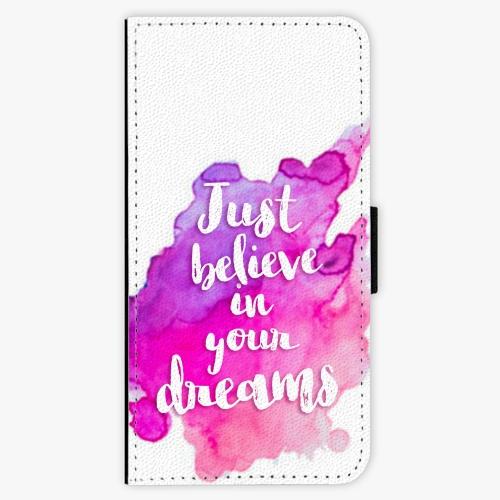 Flipové pouzdro iSaprio - Believe - iPhone 6/6S