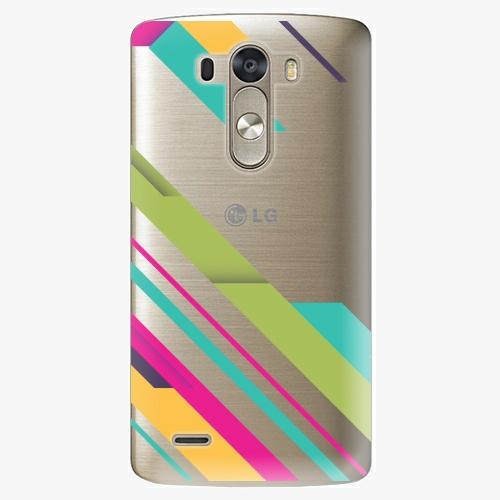 Plastový kryt iSaprio - Color Stripes 03 - LG G3 (D855)